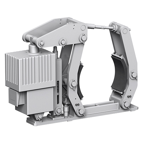 Belt Conveyors, Stackers and Reclaimers - ELECTROHYDRAULIC DRUM BRAKE