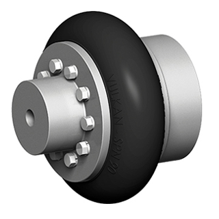 Flexible Coupling For Vibration Attenuation