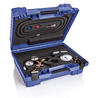 Cercafughe loktrace con gas tracciante - Valigetta con kit per la rilevazione di perdite con gas tracciante