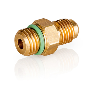 """LOKTRACE Tracer Gas Leak Detection - Fitting M12x1,5 M - 1/4"""" SAE M"""
