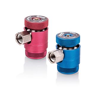 Detector de vazamento de gás LOKTRACE - Engates rápidos para HFO-1234yf