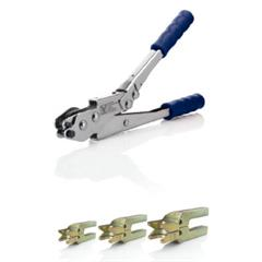 """Ferramentas de montagem - LOKRING - Jogo até 12.7 mm (1/2"""") com Ferramenta LOKTOOL MZ"""